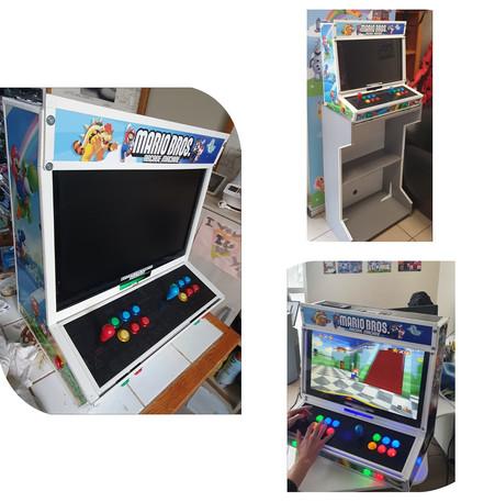 Borne d'arcade (autres vues)