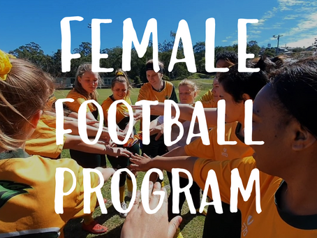 Hawks invests in Female Football Program