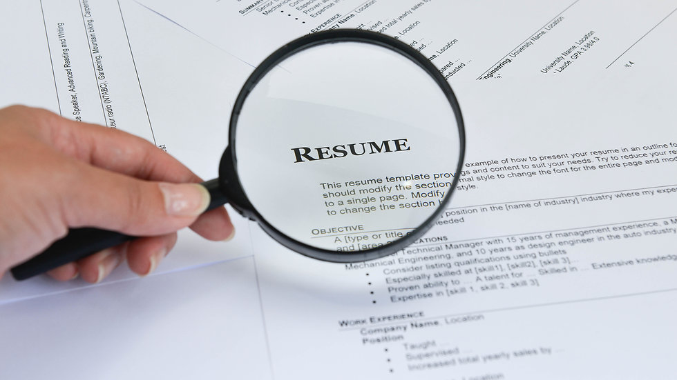 Resume Generation