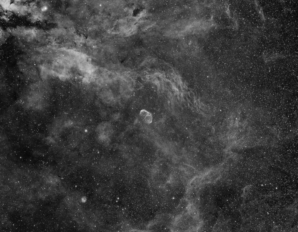 Wide-field around NGC 6888