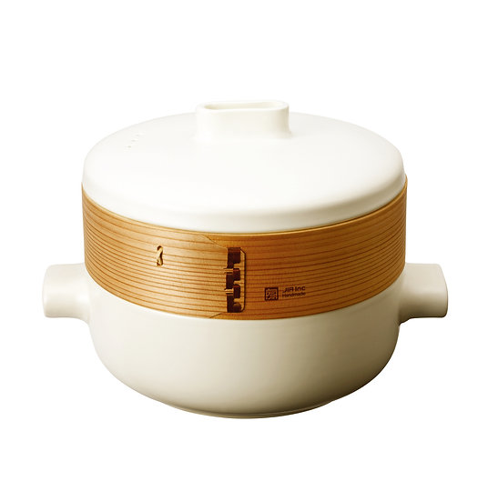 Induction Steamer set  (Steamer Pot +  1 Basket) 24cm