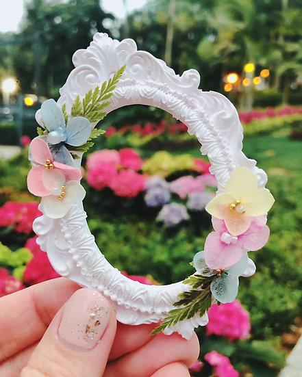 復古歐洲式紫陽花擴香石