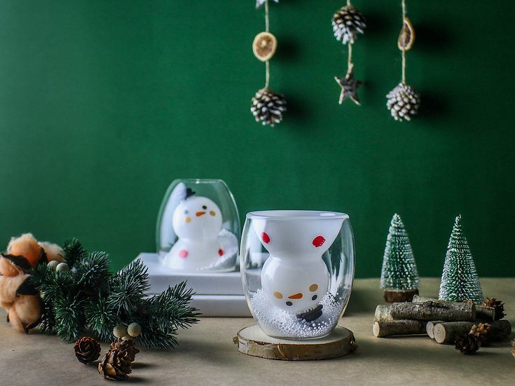 Christmas - Snowman Double 聖誕系列-雪人雙層杯