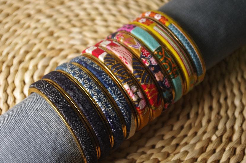布紋銅手鐲