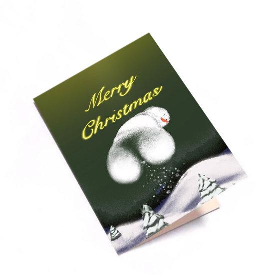 Eunice Drawing - 雪人聖誕卡