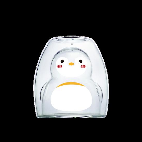 Penguin Double - Clear 企鵝雙層杯-清透