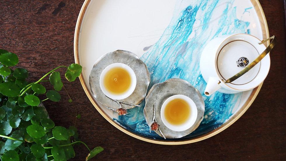 (Tea Time) Resin Tea Tray (30cm)