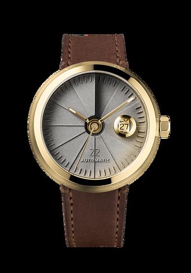 4D Concrete Watch Automatic - Signature Edition Brass Look
