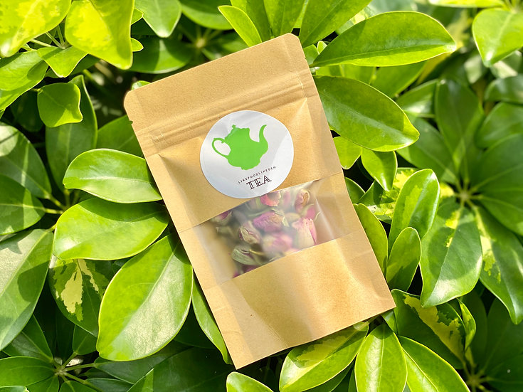 法 國 原 粒 進 ⼝ 粉 紅 玫 瑰 花 茶 (16g)
