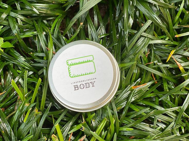 Vegan Body Cream 純素身體乳霜 (30g) by LIKEFOODLIKEGEM