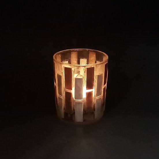 貝殼蠟燭台 - 玻璃