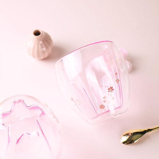櫻花雙層杯
