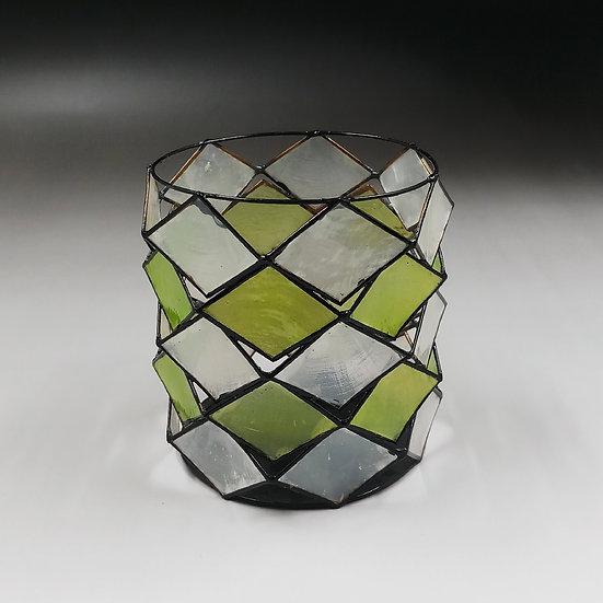 貝殼蠟燭台 - 金屬