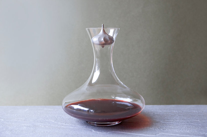 沐雨醇酒球BOHEMIA圓形水晶玻璃醒酒瓶組
