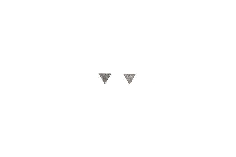 Tetrahedron Earring