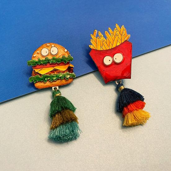 漢堡包仔與薯條仔