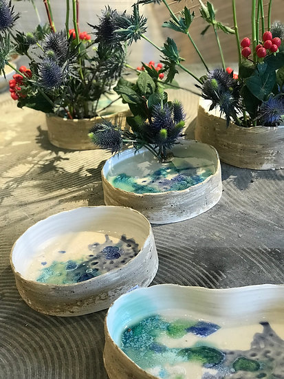 Limited Edition: Reflection Flower Bowl