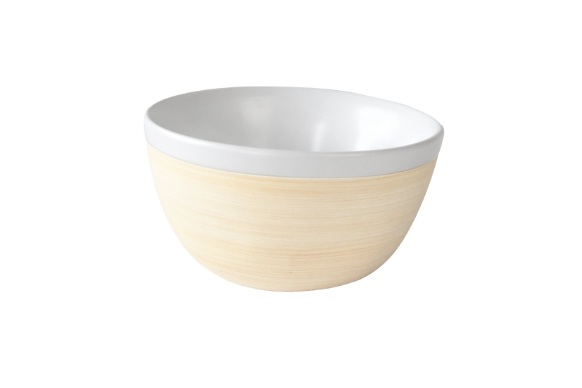 Medium bowl, double wall porcelain,  12.5cm, 315ml