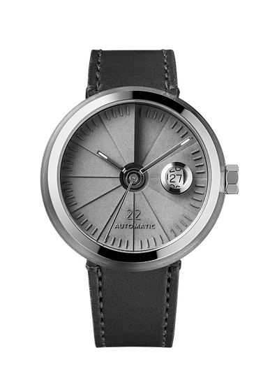 4D Concrete Watch Automatic - Signature Edition Steel Look