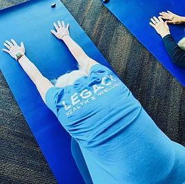Legacy Retreat (yoga session)