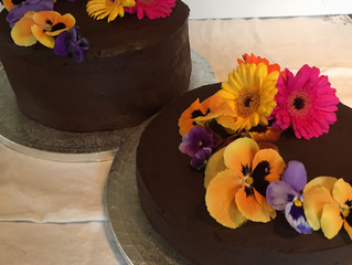 Chocolatey and Flowery
