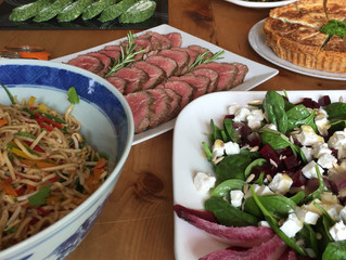 Fancy a business lunch like this delivered to your office/home?