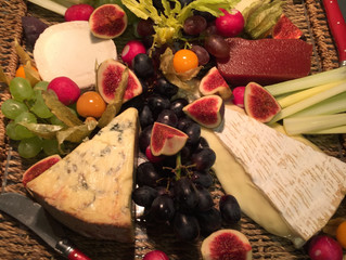 Hilary's cheese boards - nobody does them better