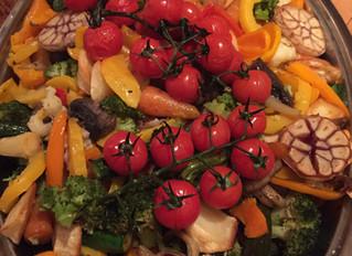 A harvest festival family feast