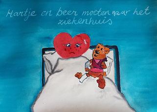 schildertherapie geeft een beeld waar woorden (nog) niet gevonden zijn. Kinderen verwerken beter via het beeld.