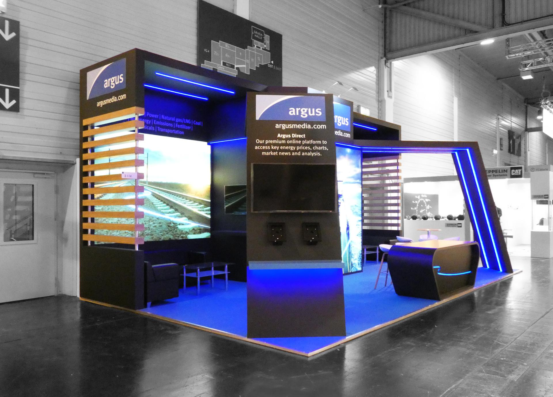 Argus Media - Expo Stand Design