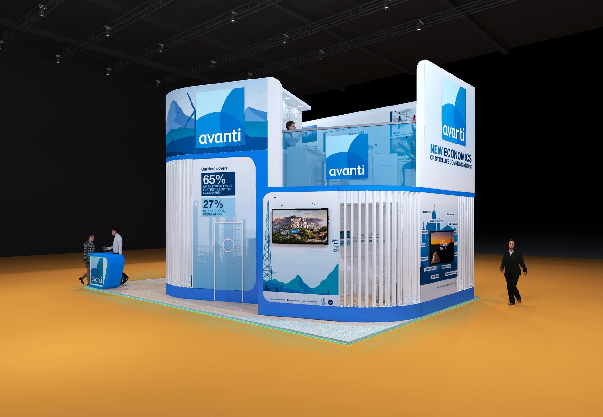 Exhibition stand - Avanti