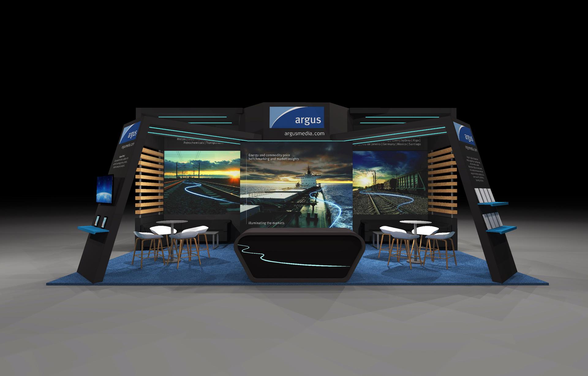 Argus Media - Exhibition Stand Design