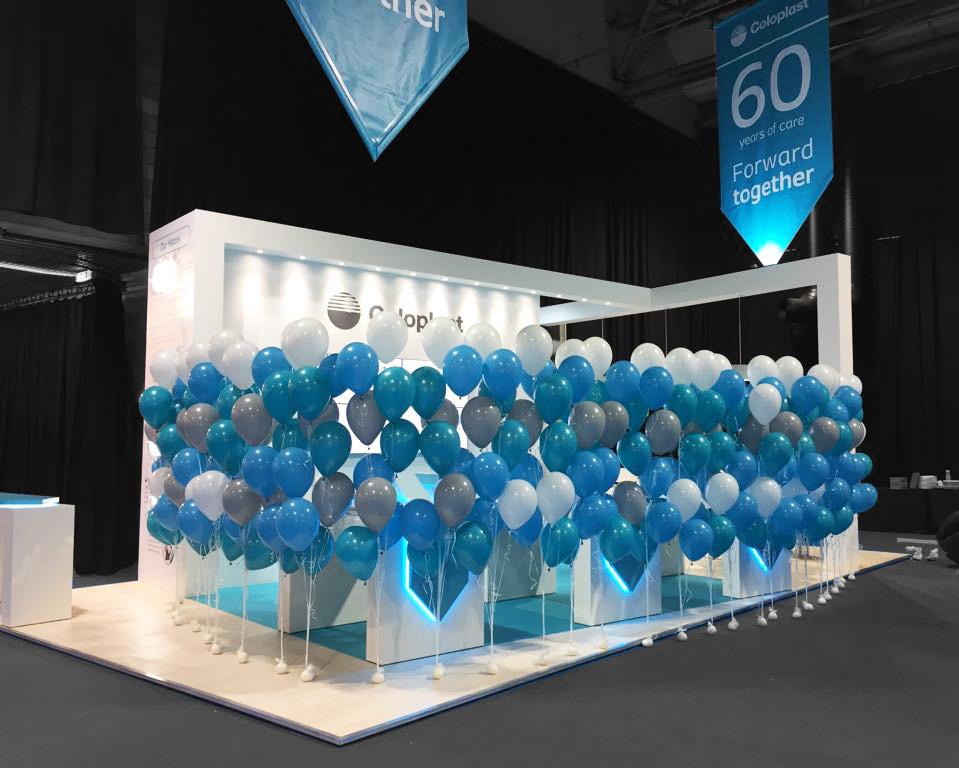 Exhibition Stand Design - Coloplast