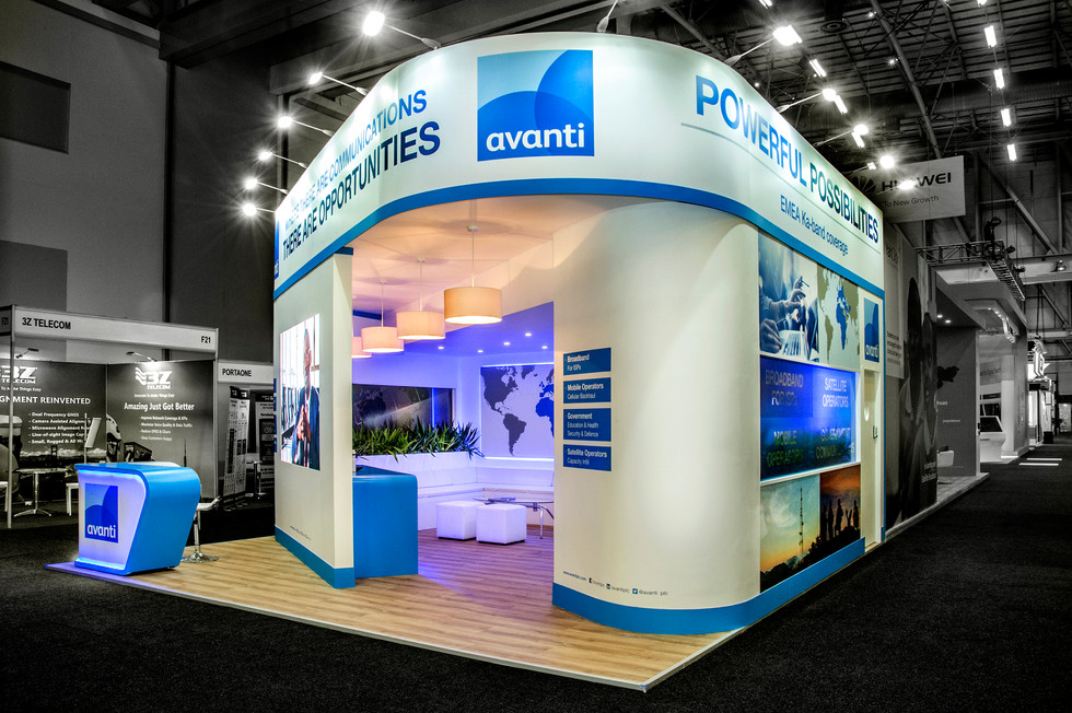 Trade show stand design - Avanti