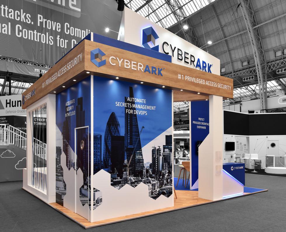 Cyberark stand design