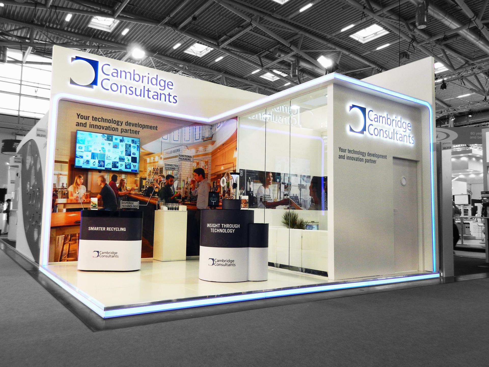 Trade Show Stand - Cambridge Consultants