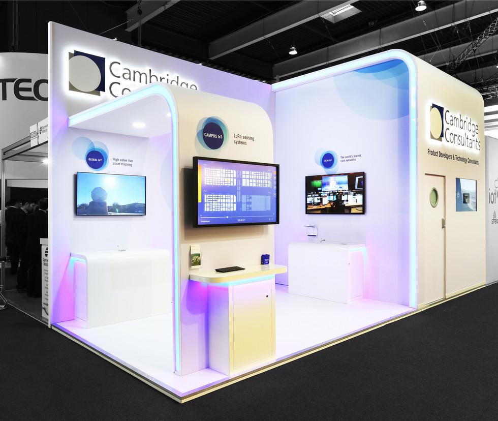 Exhibition Stand - Cambridge Consultants
