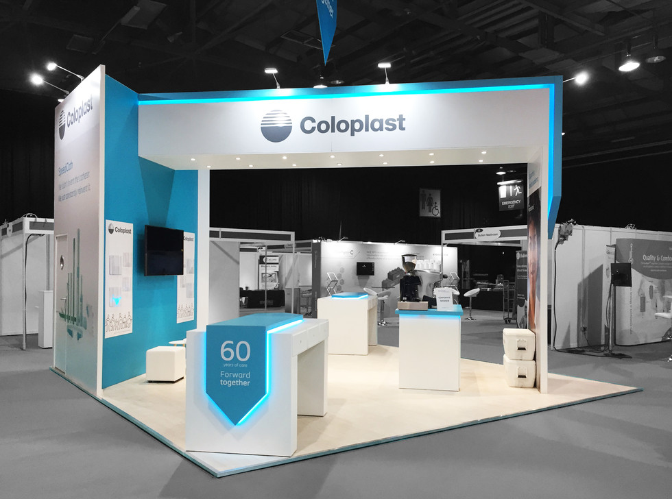 Trade Show Stand - Coloplast