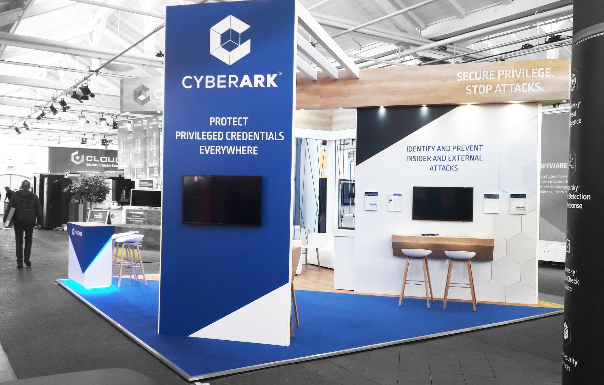 Cyberark exhibition design