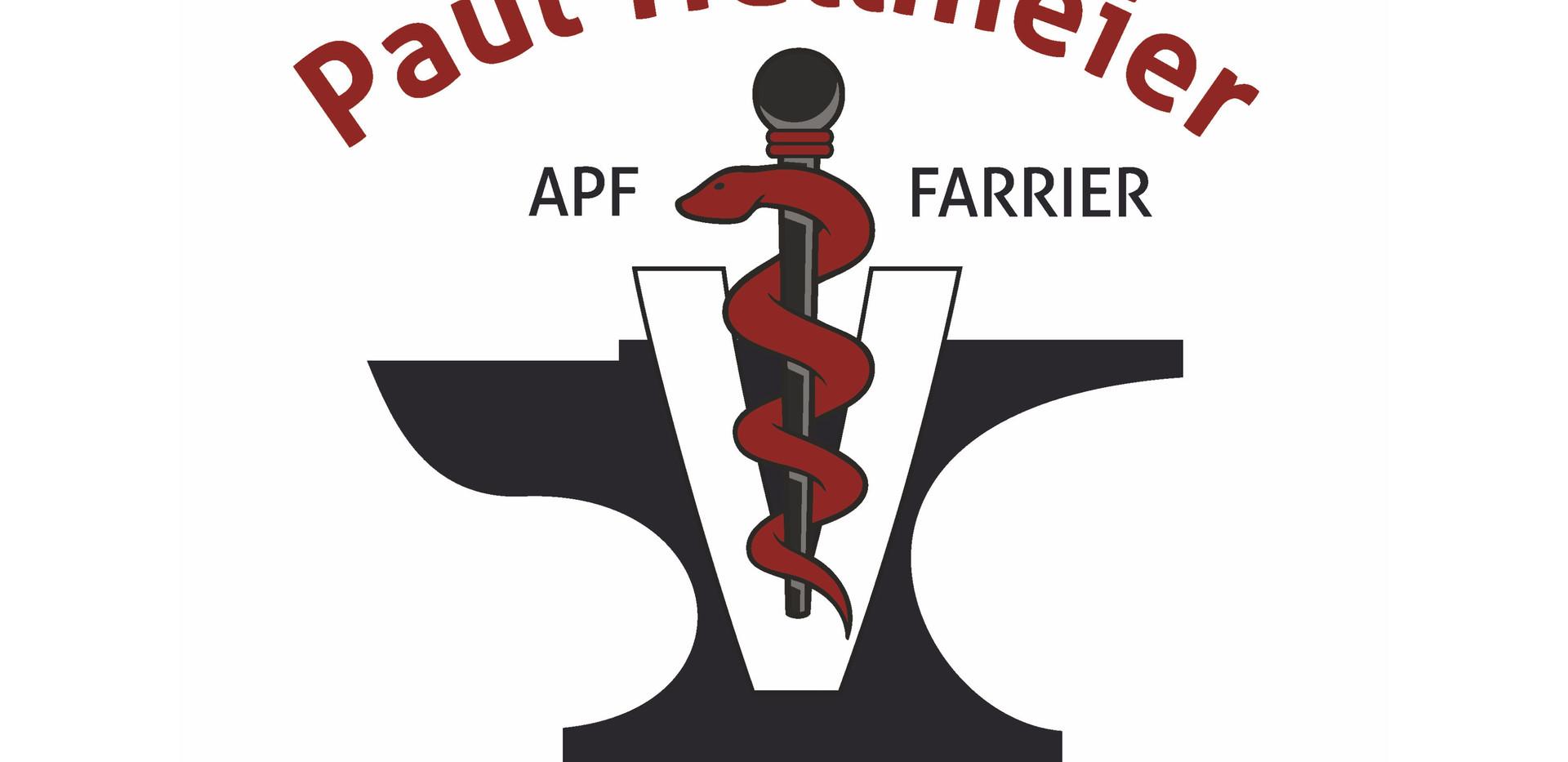 Logoentwicklung, Fahrzeugbeschriftung, Werbemittel für Hufschmied