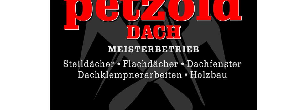 Logoentwicklung, Fahrzeugbeschriftung, Werbeschilder- und banner Dachdecker