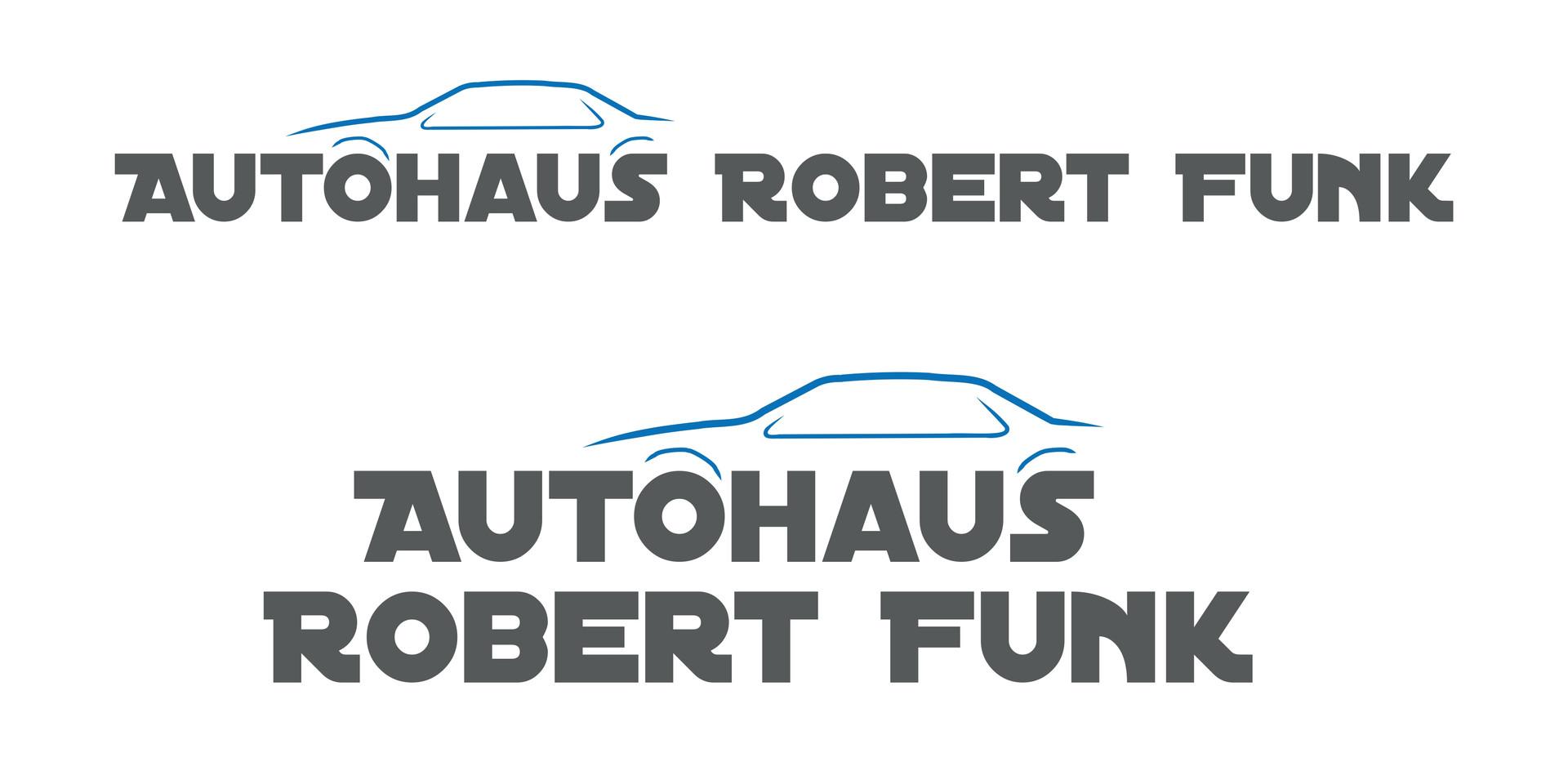 Logoentwicklung, Aussenwerbung, Büroausstattung für Autohaus