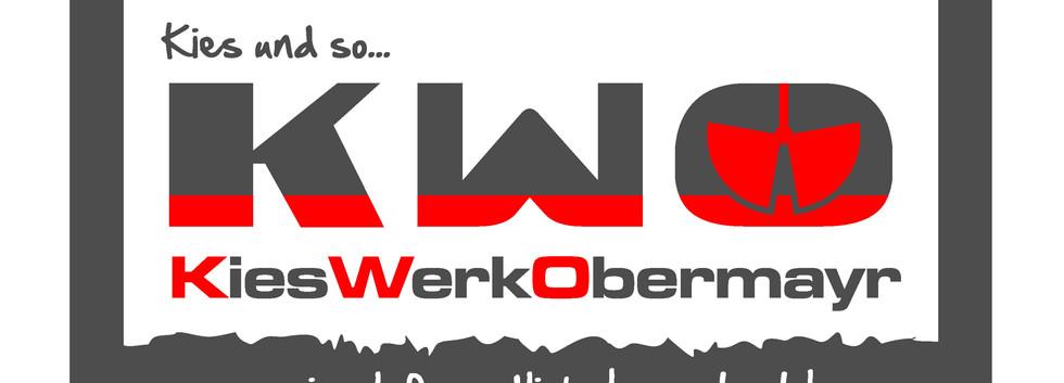 Logoentwicklung, Büroausstattung, LKW-Beschriftung für Kieswerk