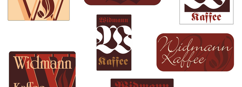 Vorstufe Logoentwicklung Kafferösterei