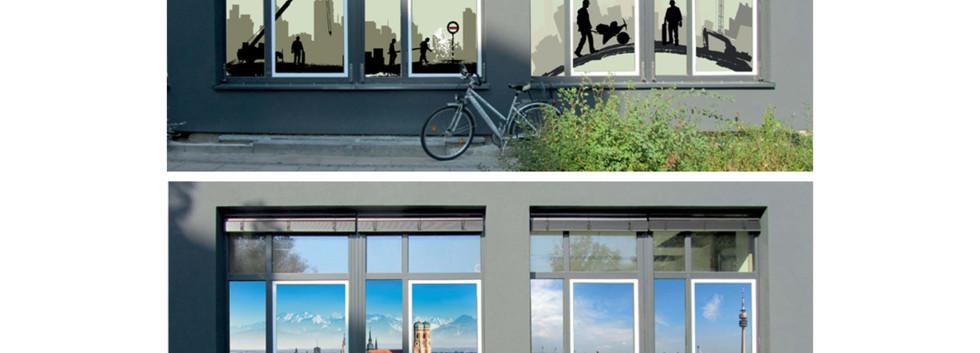 Gestaltung Fenster