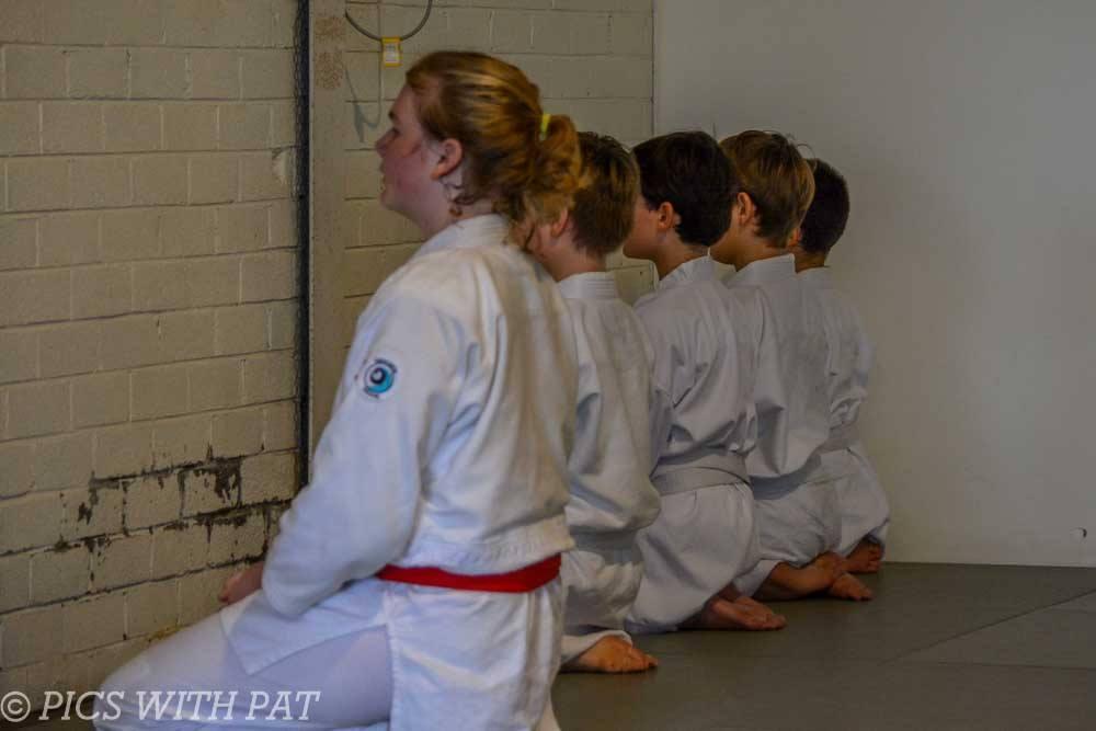 Newcastle Aikido kids grading