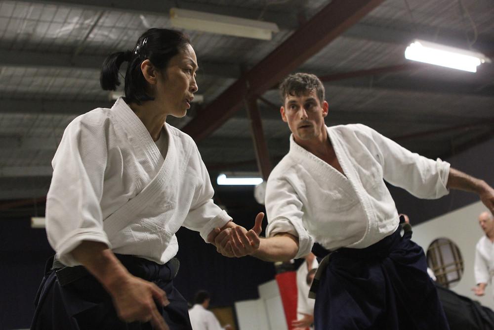 Newcastle Aikido, Sensei Darius