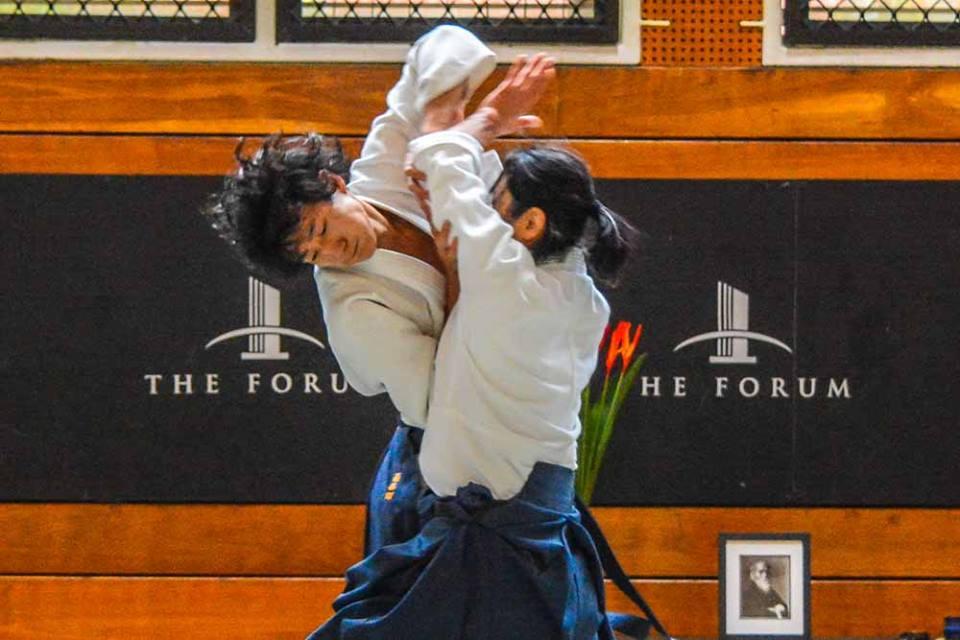 Newcastle Aikido Okamoto ikkyo