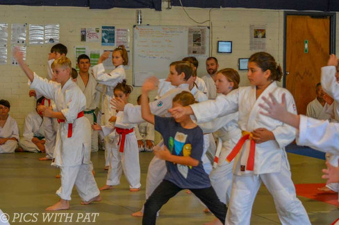 Aiki Kids strut their stuff