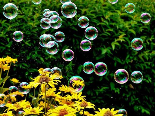 L'impollinazione in una bolla di sapone